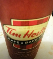 hortons cup